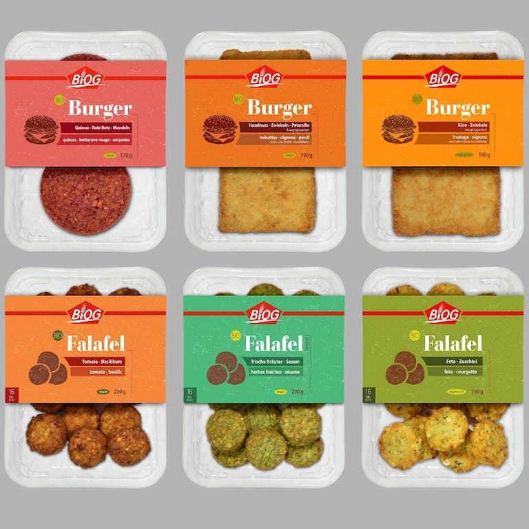 BIOG 6 Burger und Falafel