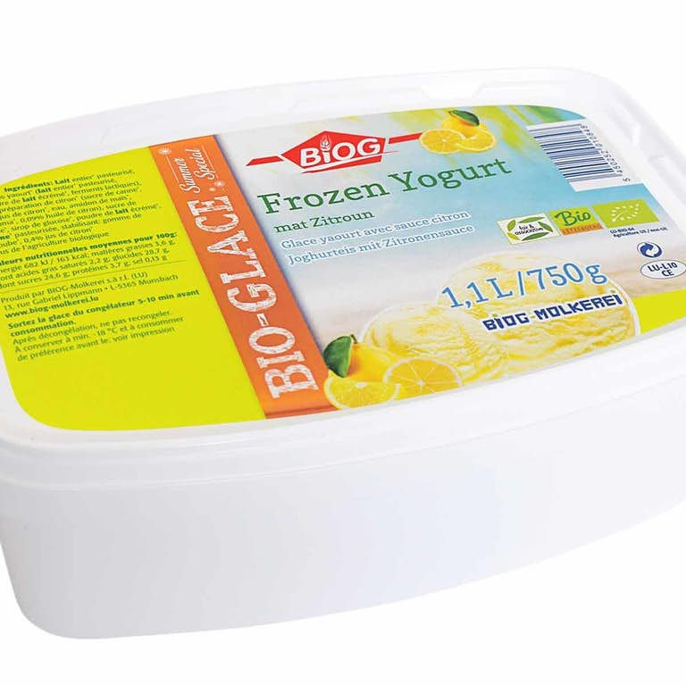 BIOG Glace Frozen Yogurt