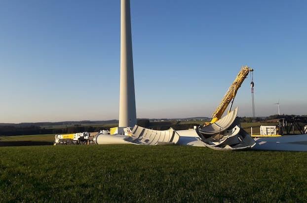 Repowering Windkraftanlage Okt 2021 4