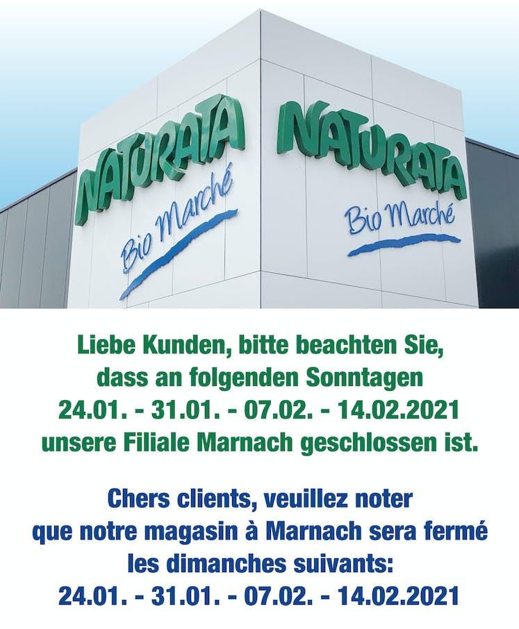Marnach fermé 2021