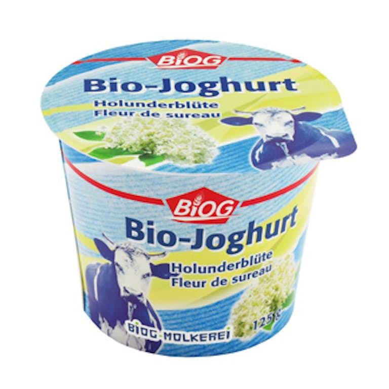 1020 Bio Joghurt fleur de sureau haut 125g