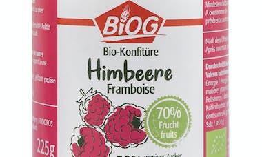6981 BIOG Bio confitures 70 framboise 225g RVB