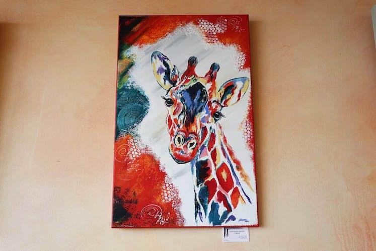 Carole Bever Giraffe WEB