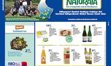 NATURATA Annonce mensuelle juni