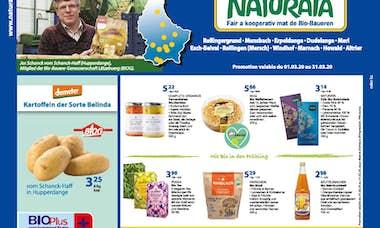 NATURATA Annonce mensuelle mars