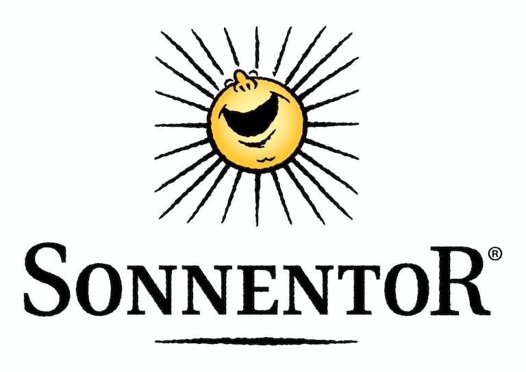 SONNENTOR Logo 4 C schwarz gelb Kopie